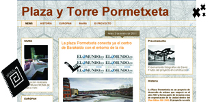 Inauguramos el blog de la Plaza Pormetxeta