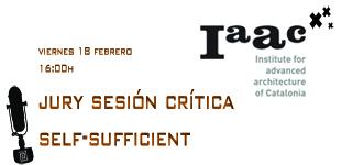 Jury sesion en el IAAC