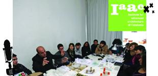 Jury session en la universidad iaac de Barcelona