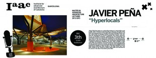 Hyperlocals Lecture at Iaac