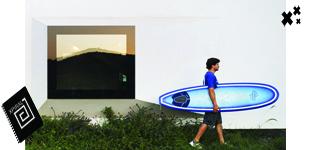 Windsurfer House publicado en Designboom