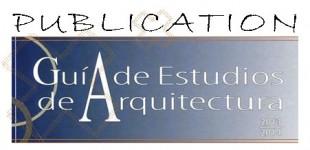 Guía de estudios de Arquitectura de España 2013-2014