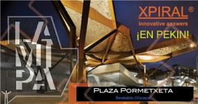 XPIRAL AND PORMETXETA IN 'LAMIPA CONTEMPORARY IBERIAN ARCHITECTURE EXHIBITION', BEIJING/PEKIN 2014