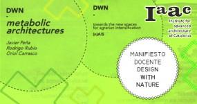 PRESENTACIÓN DEL MANIFIESTO DOCENTE 'DESIGN WITH NATURE' EN IAAC